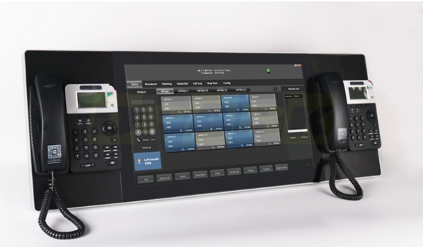 Operator Console for Call Point System